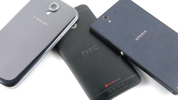 HTC ONE CON EL S4 Y EL XPERIA Z
