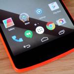 Características de Android Lollipop para Nexus 4