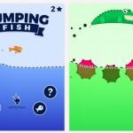 Esquiva cientos de minas en Jumping Fish
